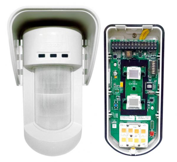 Detecteur de mouvement exterieur sans fil Risco RWX312 watchout