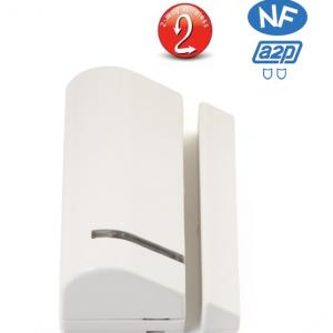 Detecteur ouverture sans fil porte : fenetre bidirectionnel Risco RWX73M