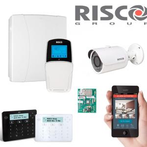 Kit alarme hybride Risco LightSYS 2 mixte filaire et sans fil pour professionnel