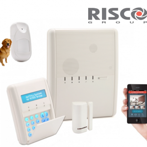 Kit centrale alarme sans fil Risco Agility 3