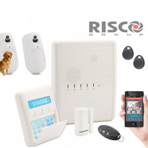 Kit centrale alarme sans fil Risco Agility 3 GSM:IP professionnel
