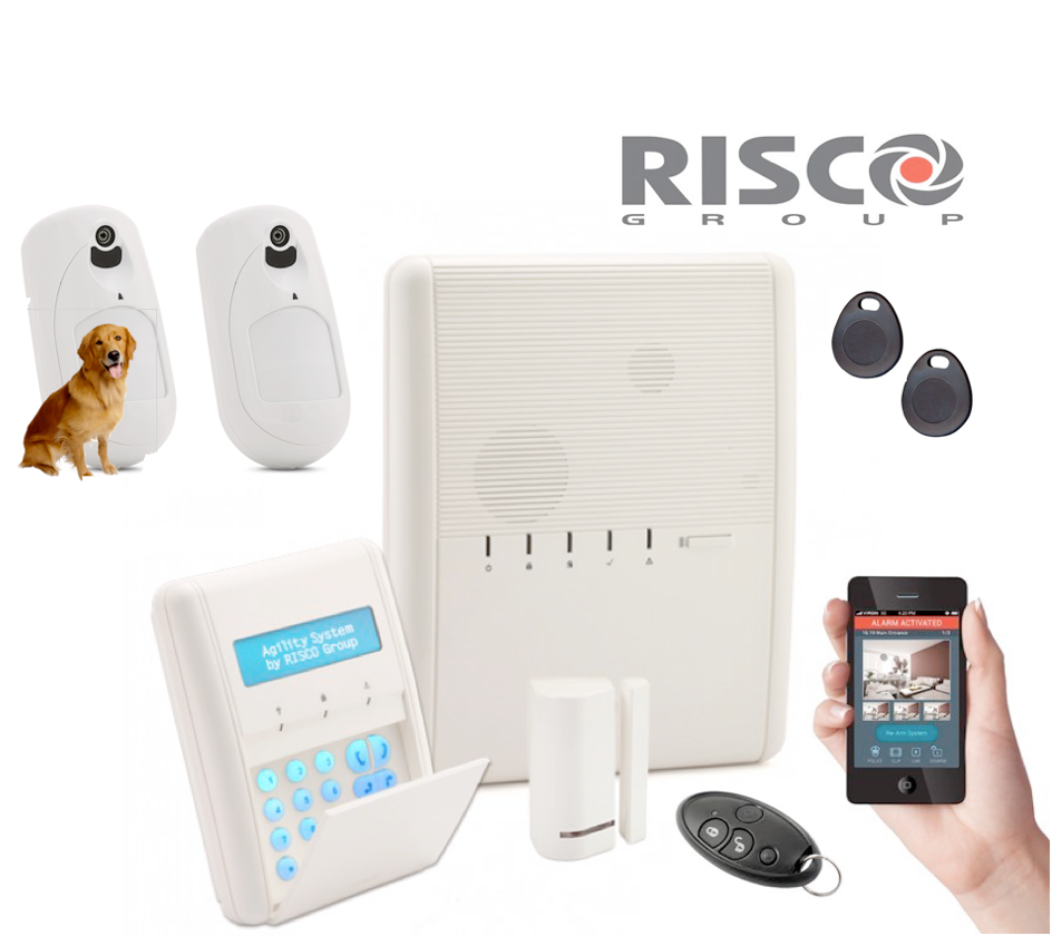 kit alarme sans fil risco agility 3 ip gsm nfa2p lev e de doute cam ra. Black Bedroom Furniture Sets. Home Design Ideas
