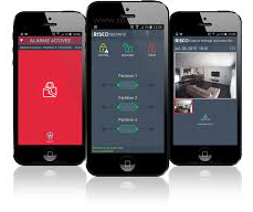 application iRISCO alarme sans fil risco agility