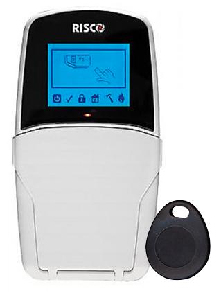 clavier LCD filaire avec tag de proximite Risco RP432KPP