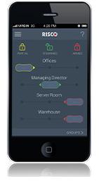 iRISCO application alarme Risco Agility 3