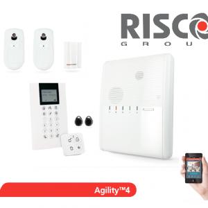 Kit alarme Agility 4 sans fil avec caméra Risco levee de doute PIRCAM