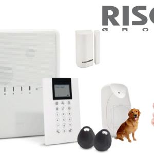 Kit centrale alarme Risco Agility 4 sans fil